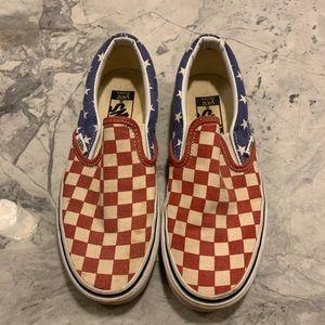 Women's van slip on shoes